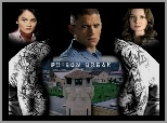 wieża, Prison Break, Wentworth Miller, Sarah Wayne Callies, plecy, Robin Tunney